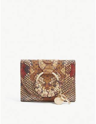 See by Chloe Hana snake print mini purse