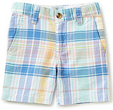 Class Club Little Boys 2T-7 Plaid Shorts