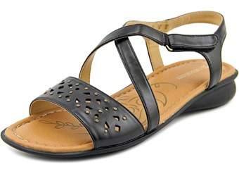 Naturalizer Jaqueline Women Open-toe Synthetic Black Slingback Sandal.