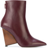 Alain Tondowski wedge ankle boots