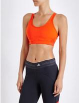adidas by Stella McCartney The Pull-On jersey sports bra