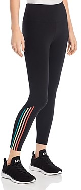 Andrew Marc Striped 7/8 Leggings