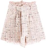 IRO belted short shorts