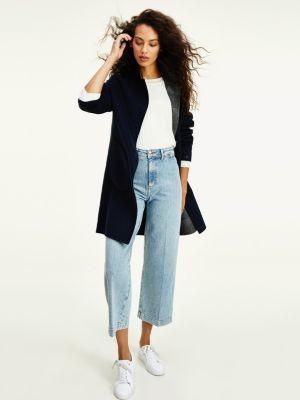 Tommy Hilfiger Reversible Wool Blend Coat
