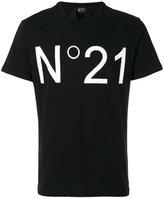 No.21 logo print T-shirt - men - Cotton - XXS