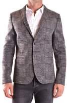 Daniele Alessandrini Men's Grey Wool Blazer.