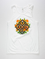 Asphalt Yacht Club Floral Diamond Mens Tank