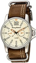 Tommy Bahama Men's 10018318 Paradise Pilot Multifunction Analog Display Japanese Quartz Brown Watch