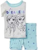 Gap babyGap | Disney Baby Frozen dreamers short sleep set