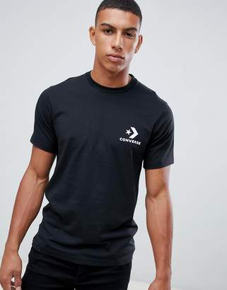 Converse Small Logo T-Shirt In Black