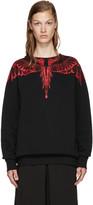 Marcelo Burlon County of Milan Black Esmeralda Sweatshirt