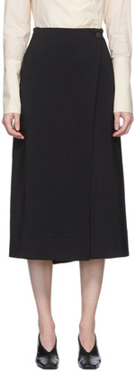 Studio Nicholson Black Bude Skirt