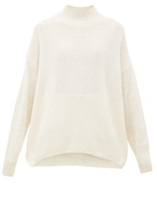 Allude High-neck Cashmere Sweater - Womens - Cream