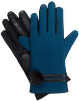 Isotoner IsotonerWomen's Faux Fur Pom Gloves with smarTouch Technology
