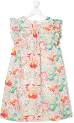 Bonpoint TEEN floral print dress