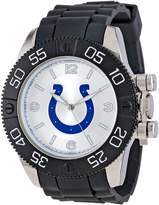 Game Time Men's NFL-BEA-IND Beast Round Analog Watch