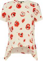 Proenza Schouler Poppy Print Trapeze T-Shirt