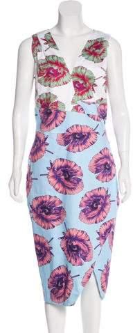 Altuzarra Printed Midi Dress w/ Tags