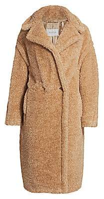 Max Mara Women's Park Lurex Teddy Coat