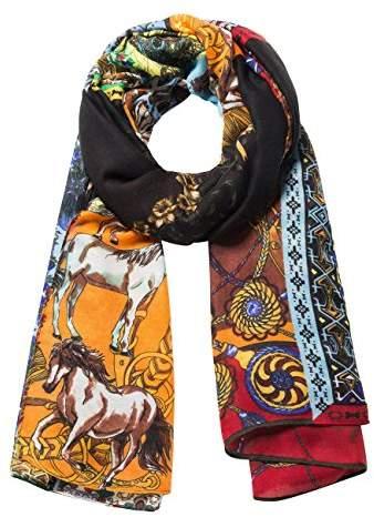 e326f04fc7c3b Desigual Scarves & Wraps For Women - ShopStyle UK