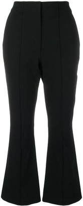 Alexander Wang Cropped Flared Trousers