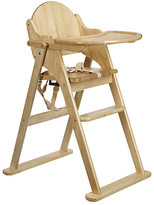 East Coast Nursery East Coast Folding Wood Highchair