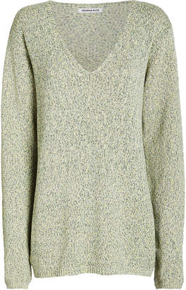 Georgia Alice Space Dye V-Neck Sweater