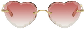 Chloé Pink Rosie Sunglasses