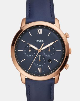 Fossil Neutra Blue Chronograph Watch