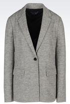 Armani Jeans Jacket In Interlock