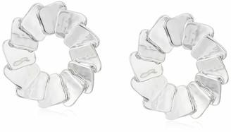 Robert Lee Morris Soho Women's Sculptural Square Large Stud Earrings