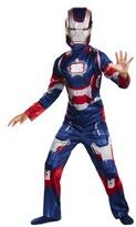 Iron Man Boy's Iron Patriot Classic Costume