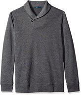 Perry Ellis Men's Big and Tall Shawl Collar Pullover Knit Sweater