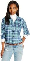 Dickies Women's Long-Sleeve Flannel Shirt