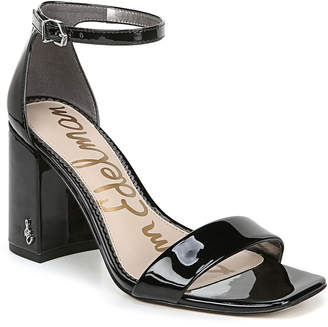 Sam Edelman Daniella Patent Leather Ankle Sandals