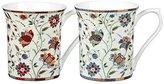 "Queens Hidden ""Ast Indian Silk"" World Royale Mug, Multi-Colour, 220 ml, 1-Piece, Assorted"