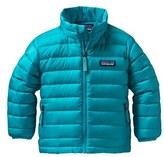 Patagonia Water Resistant Down Sweater Jacket (Toddler Girls & Little Girls)