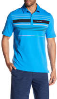 Travis Mathew Partial Button Up Tee