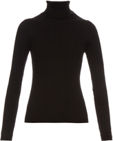 MiH Jeans Casa roll-neck ribbed-knit sweater