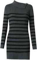 Andrea Bogosian - knit striped dress - women - Polyamide/Viscose/Spandex/Elastane - P