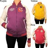Hudson SkinCraft, Inc. Outerwear Women's Cotton Varsity Jacket