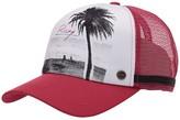 Roxy Dig This Trucker Hat (Cerise) Caps