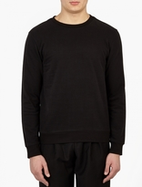 Paul Smith Black Brushed Cotton Sweatshirt