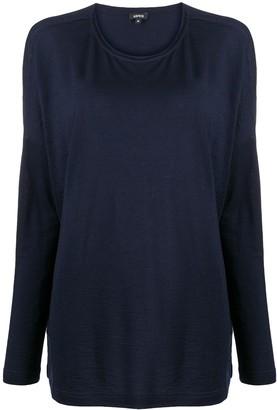 Aspesi longsleeved wool T-shirt