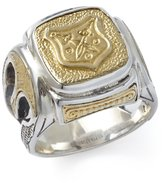 Konstantino Men's Size 10.5 and Bronze Shield Ring