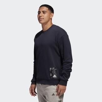 adidas Tech Graphic Crew Sweatshirt