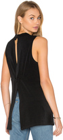 BCBGeneration Twist Back Tank