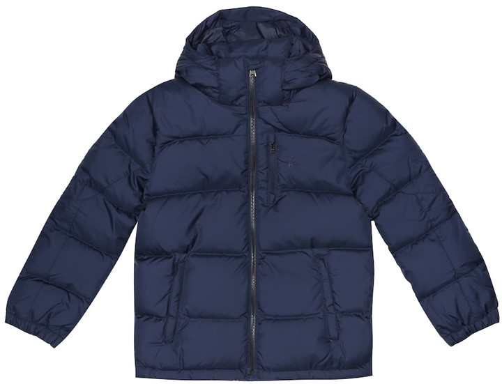 26675ebd36 Hooded quilted jacket