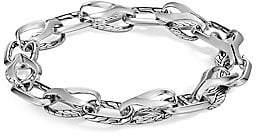 John Hardy Men's Classic Silver Chain Bracelet