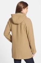 London Fog Hooded Duffle Coat